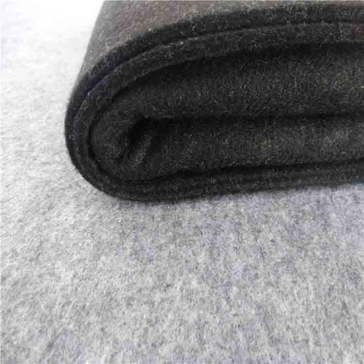 black wool felt 2