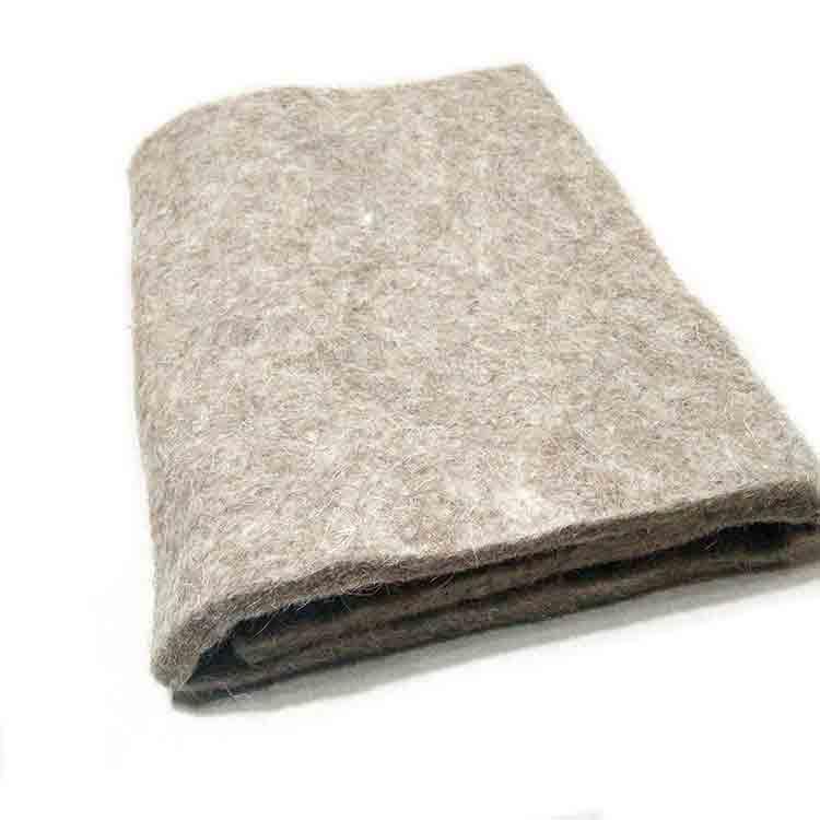 felting of wool