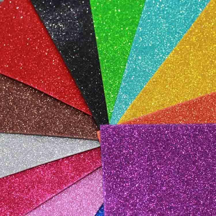 glitter felt sheets
