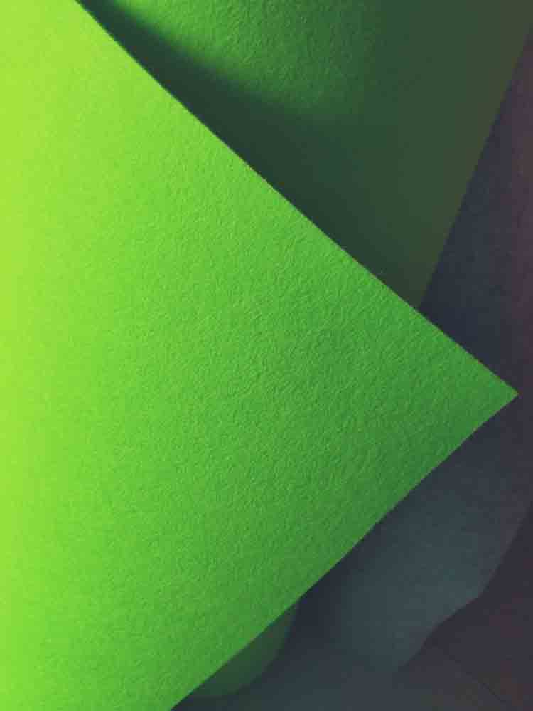 green felt cloth 2