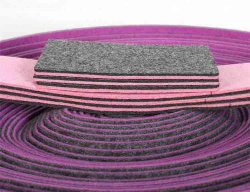 mixed colors polyester felt