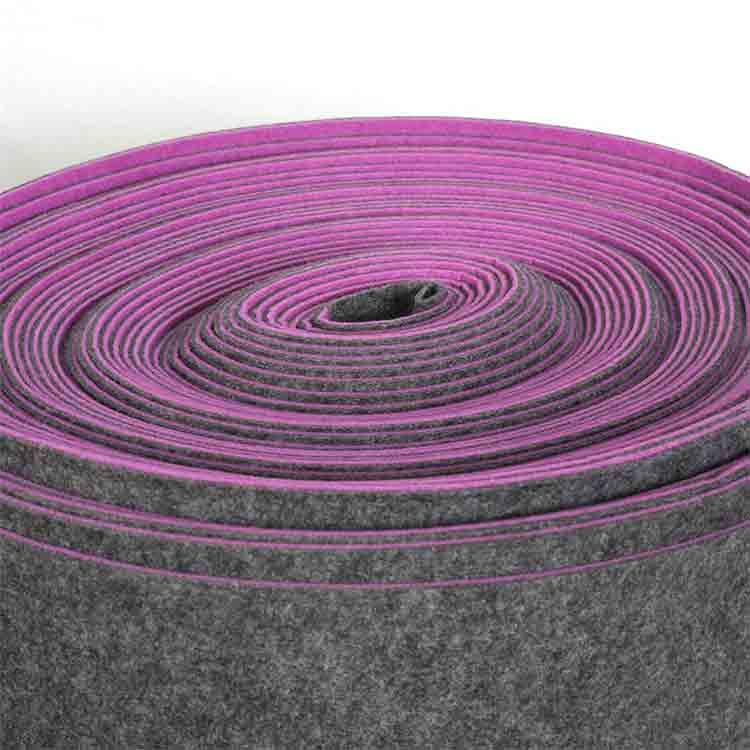 mixed colors polyester felt 5