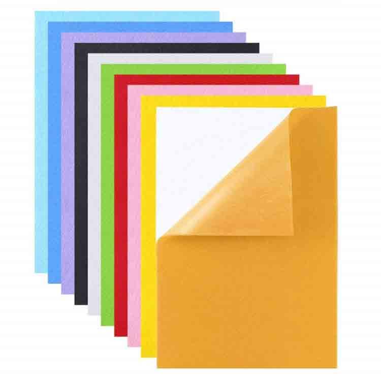 self adhesive felt sheets