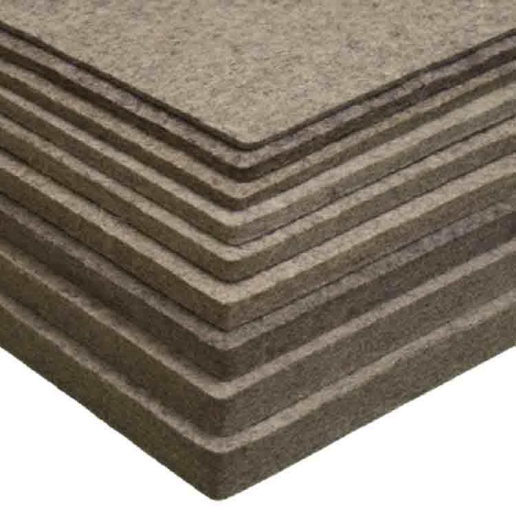thick wool felt fabric