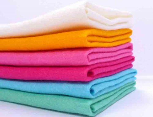 Wool And Rayon Blend Felt