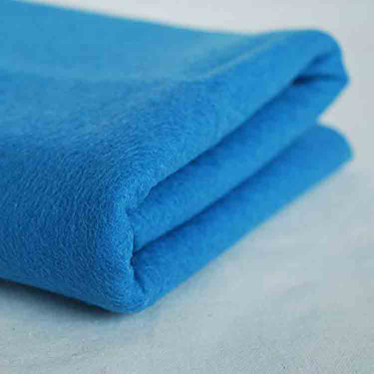 blue wool felt 2