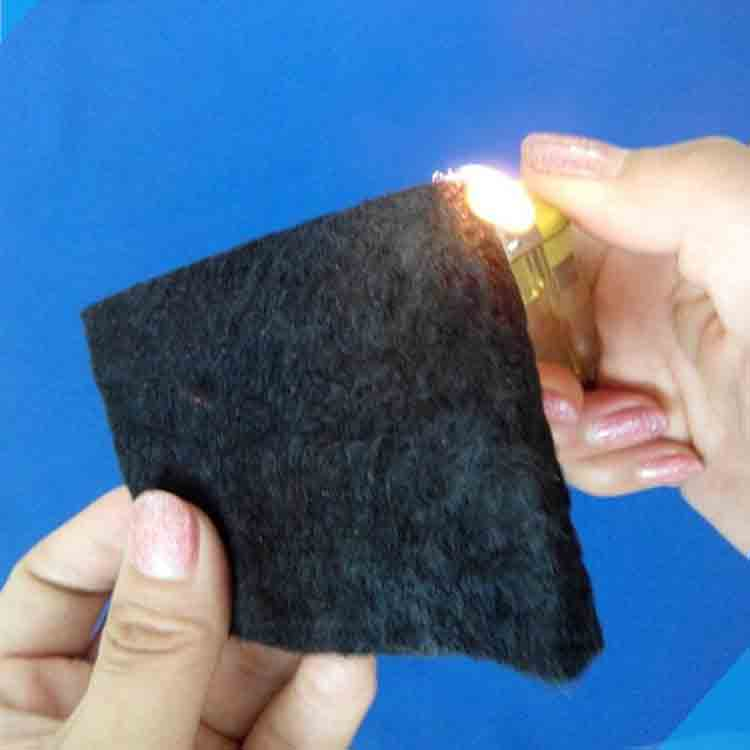 carbon fiber fireproof felt