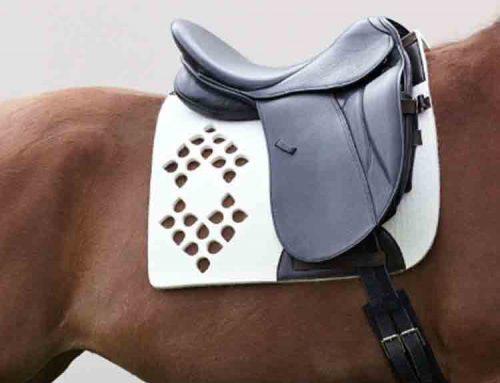 fleece saddle pad