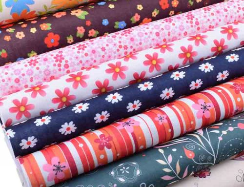 printed felt fabric