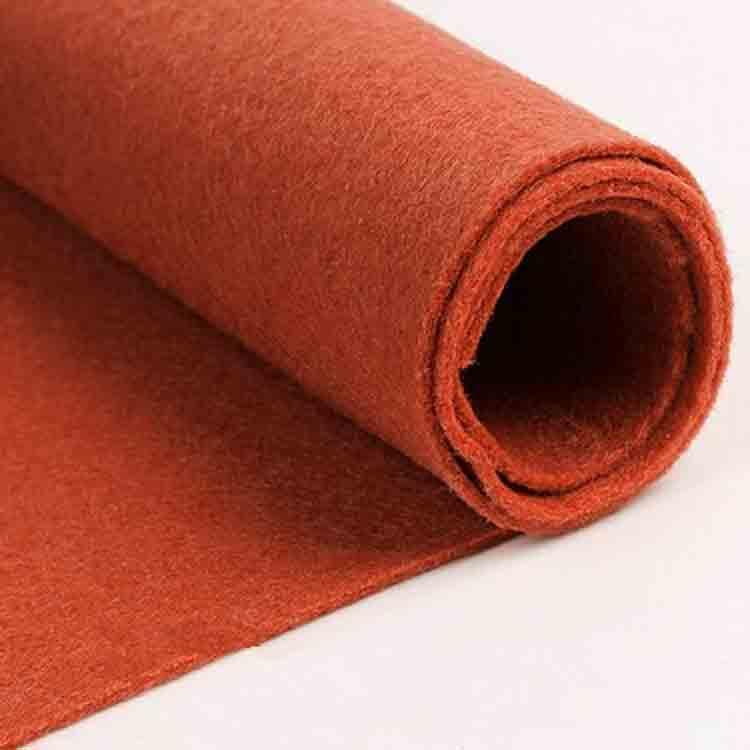 brown felt fabric 3