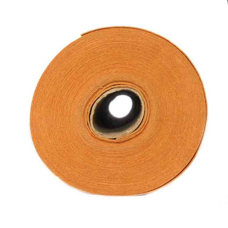 orange felt fabric 1