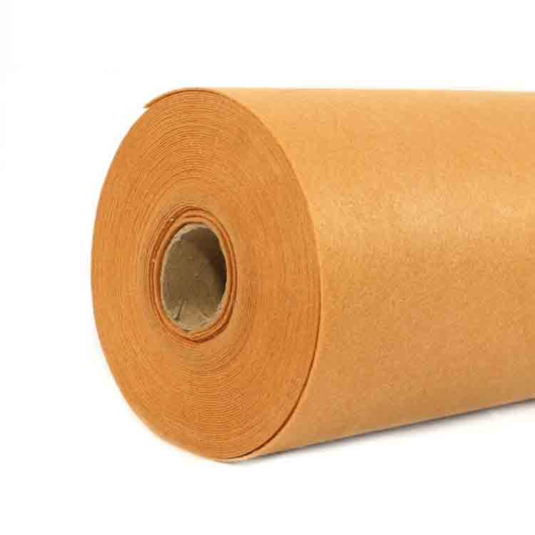orange felt fabric