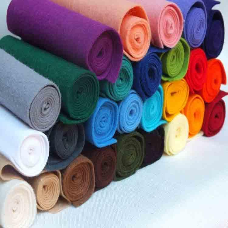 rolls of felt fabric 6