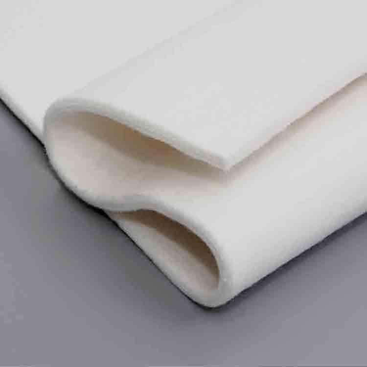 white felt fabric 1